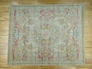12'x15' Oversize Thick And Plush Savonnerie Louis Phillippe Design Rug G36824