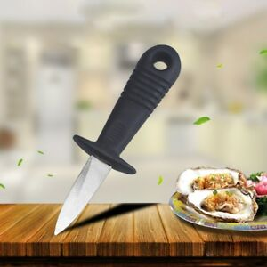 Oyster Knife Opener Stainless Steel Shucker Shucking Scallop Shellfish Tools