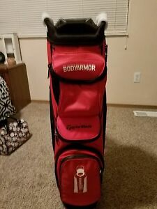 Underarmour Black And Red Golf Bag