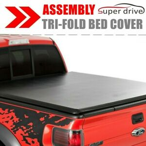 Assemble Lock Tri-Fold Tonneau Cover For 2007-2019 Toyota Tundra 6.5ft Short Bed