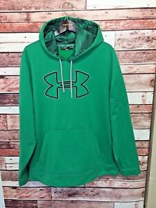 Under Armour Men's Extra Large Pullover Hoodie Gecko Green XL