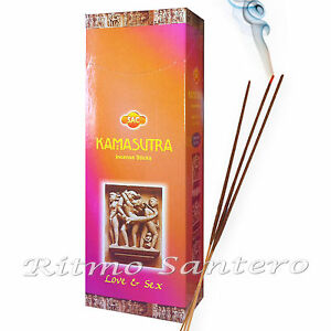 KAMASUTRA Love & Sex Incense Sticks Cleanse Spell Offering Incienso Wicca Ritual