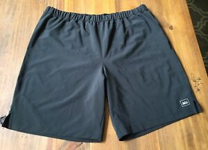 Mens REI Running Hiking Adventure Athletic Zip Pocket Shorts w Liner ~ Sz L
