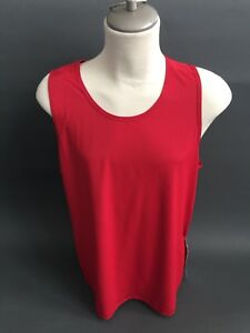 Lululemon OUT RUN Tank Men's Red Shirt Sleeveless Top Size XL Extra Large