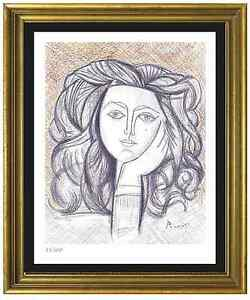Pablo Picasso SignedHand-Numbered