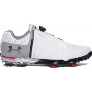 NEW Under Armour Men's UA Spieth One BOA Golf Shoes 1292754-100 - Size 9.5