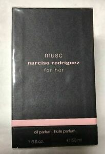 Narciso Rodriguez Musc For Her Oil Parfum 1.6oz50ml New In Box
