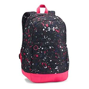Under Armour Girls Favorite Backpack BlackMetallic Silver One Size