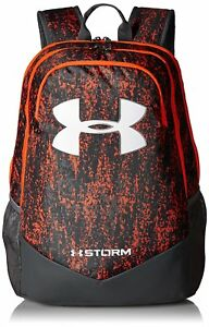 Under Armour Boys Storm Scrimmage Backpack Magma OrangeRhino Gray One