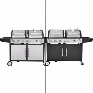 Royal Gourmet BBQ Gas Charcoal Grill Dual Fuel Combo ZH3002/ZH3002S