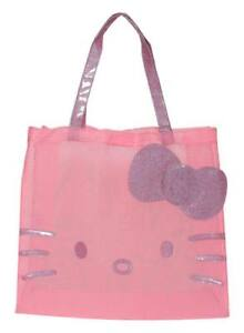 Hello Kitty Tote See Through Me Pink Handbag