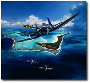 BENT WING SONATA by Rick Herter B 24 Liberators Canvas Ed Aviation Art