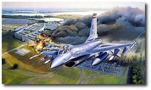First Pass, Defenders Over Washington by Rick Herter Canvas Aviation Art