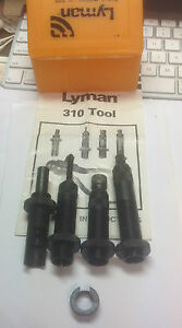 LymanIdeal four piece w collet Die set for 310 tool or Tru Line press 6.6 Jap.
