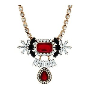 QVC Susan Graver Drop Statement Necklace