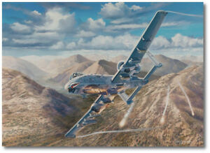 Thunder Over Kunar by Rick Herter Fairchild Republic A 10 Thunderbolt II