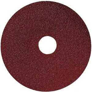 Sait 50006 4quot; x 5 8quot; 120 Grit Resin Fiber Disc for Sanders and Grinders New