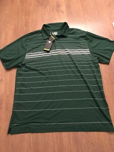 Under Armour Heatgear Loose Polo 3XL XXXL Green  Big Golf