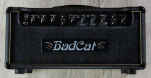 Bad Cat Amps Legacy Black Cat 30R Guitar 30W Amp Head with Reverb - Hand Wired