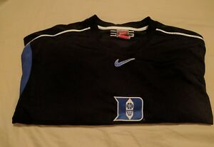 Nike ELITE Team DUKE Bluedevils BASKETBALL Black Dri-Fit Shooting Shirt 2XL