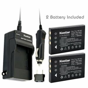 FNP60 Battery or Regular Charger for HP Photosmart R607 GwenR607xi R818 R827