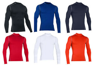 Under Armour ColdGear Armour Compression Mock 1265648 FREE SHIPPING $39.99