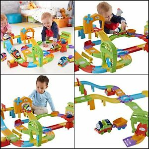 Thomas & Friends Railway with Interactive Train Playset Train Set CHRISTMAS Gift