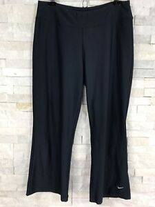 Nike Athletic Pants Womens Size Medium N Blue Fit Dry Has Stretch from Spandex