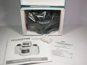 Panoramic 35mm film camera Horizon kompakt. KMZ plant. Brand new. Compact. black