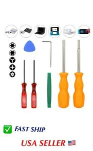 Screwdriver Full Tool Kit for Nintendo Switch NDS Sega Master Genesis 32x etc $12.95