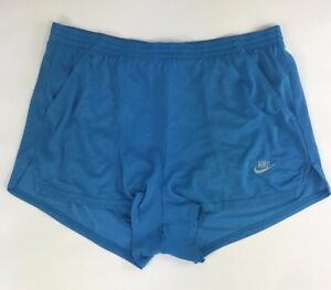 Vintage  Nike Lined Shorts Running Mens Size M Early 90's  Made in USA