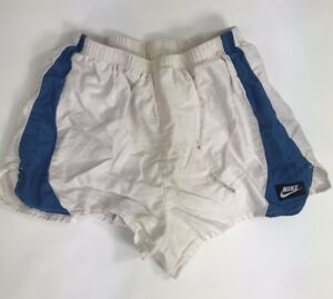 Vintage Nike Lined Shorts Running Mens Size Small 90's Nylon Liner Cotton Body