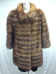TOP DESIGN REAL RUSSIAN FARMED SABLE JACKET - ELEGANT FASHIONABLE EXPENSIVE