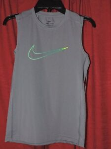 Nike Dri-Fit (Fitted) Boys Muscle Training Shirt - NWT
