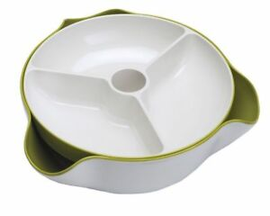 Joseph Joseph Double Dish Large Serving Bowl With Waste Collection Dish $39.99