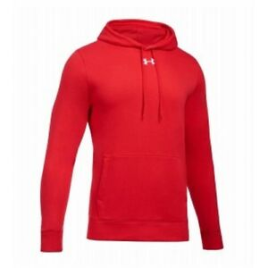 Under Armour Hustle Fleece Team Hoodie Youth 1300129 - Red - XL
