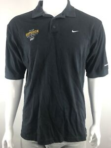 Nike FIT Dry Outdoor 07 Nationals Short Sleeve Black TShirt Mens Size L Finish L
