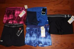 LOT 5 UNDER ARMOUR WOMENS COMPRESSION SHORTS SHORTY 3