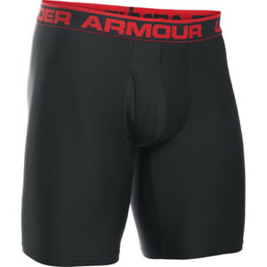 Under Armour Original 9in Boxerjock Mens Underwear Boxer Shorts - Black