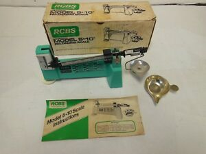 RCBS Model 5 - 10 Precisioneered Reloading Powder Scale in Box by Ohaus OMark