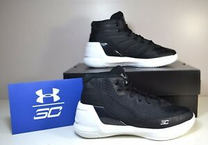 NWT BOYS UNDER ARMOUR PS CURRY 3 MID BASKETBALL TRAINING RUNNING SHOES 13C-2Y