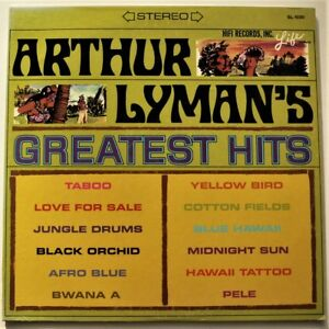 ARTHUR LYMAN'S GREATEST HITS ~1965 LP EX- Exotica  Easy Listening ~ YELLOW BIRD