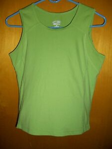 C9 by Champion Green Athletic Running Gym Yoga Tank Top Shirt Cami Womens Small