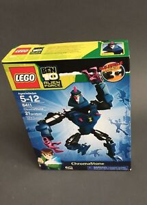 LEGO 8411 Ben 10 Alien Force CHROMASTONE  NIB