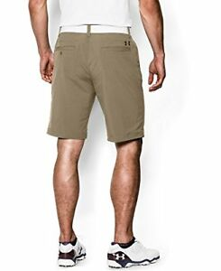 Under Armour Men's Match Play Shorts CanvasTrue Gray Heather 36 New