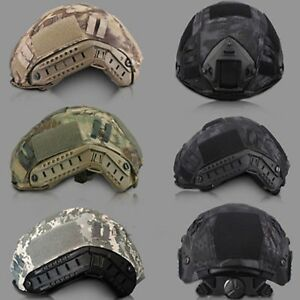 Outdoor Airsoft Paintball Tactical Military Combat Fast Helmet Cover Accessory