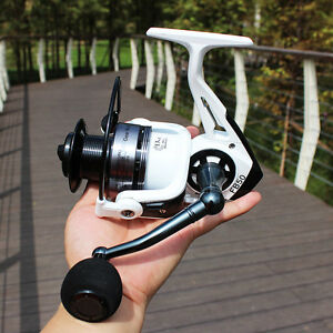 13+1 BB Spinning Reel 2000-5000 Series with 2 Spools Carbon Fiber Fishing Reels