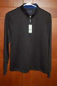Athletic Shirt Black Size M Women Long Sleeves HIGH QUALITY Brooks Brothers NWT