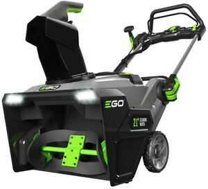 EGO 21 in. 56-Volt Lithium-ion Single Stage Electric Snow Blower with (2) 5.0Ah