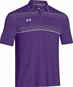 Under Armour Conquest On-Field Polo (Small PurpleWhite) New